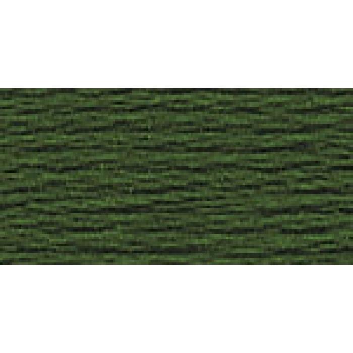 Нитки для вышивания Gamma мулине (0207-0819) 100% хлопок 24 x 8 м цв.0616 т-хаки