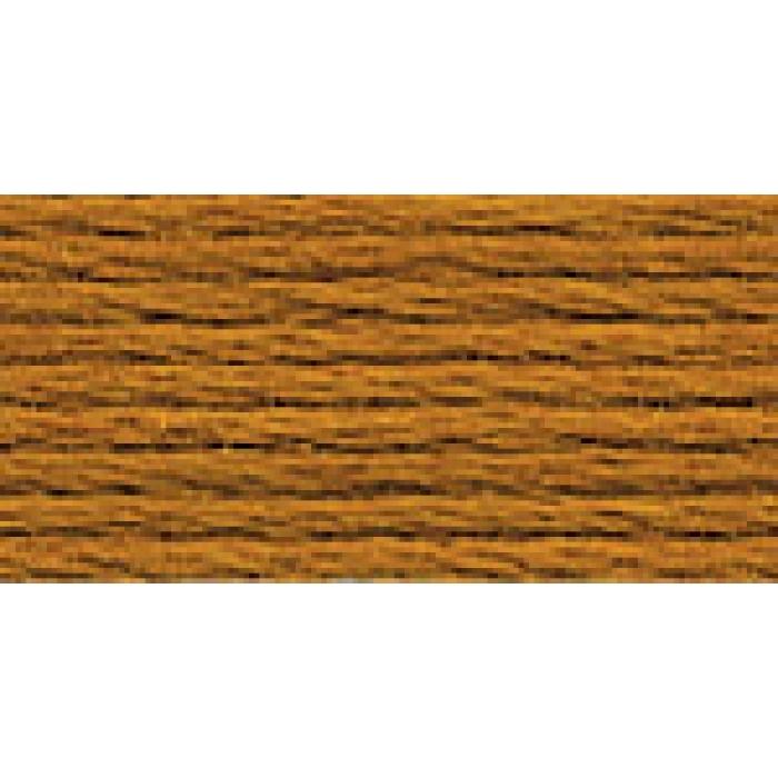 Нитки для вышивания Gamma мулине (0820-3070) 100% хлопок 24 x 8 м цв.3022 т.рыжий