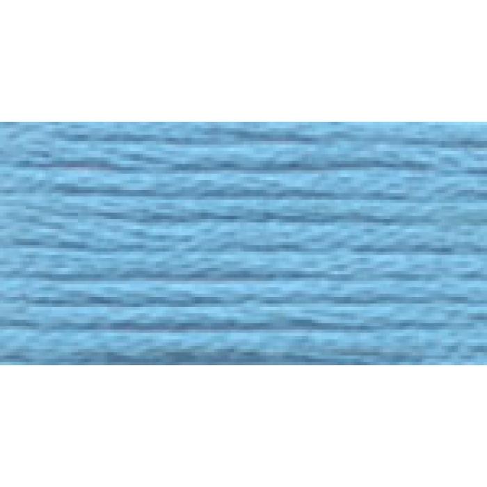 Нитки для вышивания Gamma мулине (3173-6115) 100% хлопок 24 x 8 м цв.5166 голубой