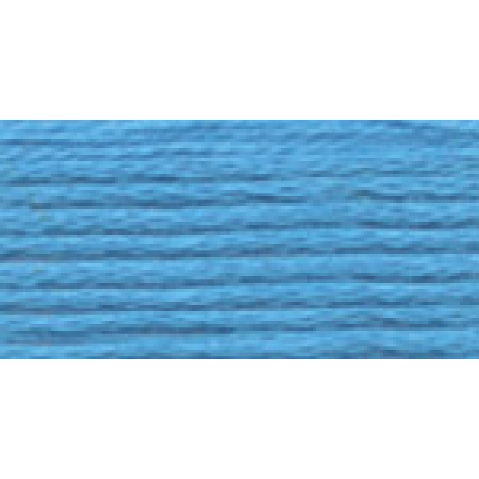 Нитки для вышивания Gamma мулине (3173-6115) 100% хлопок 24 x 8 м цв.5167 т.голубой