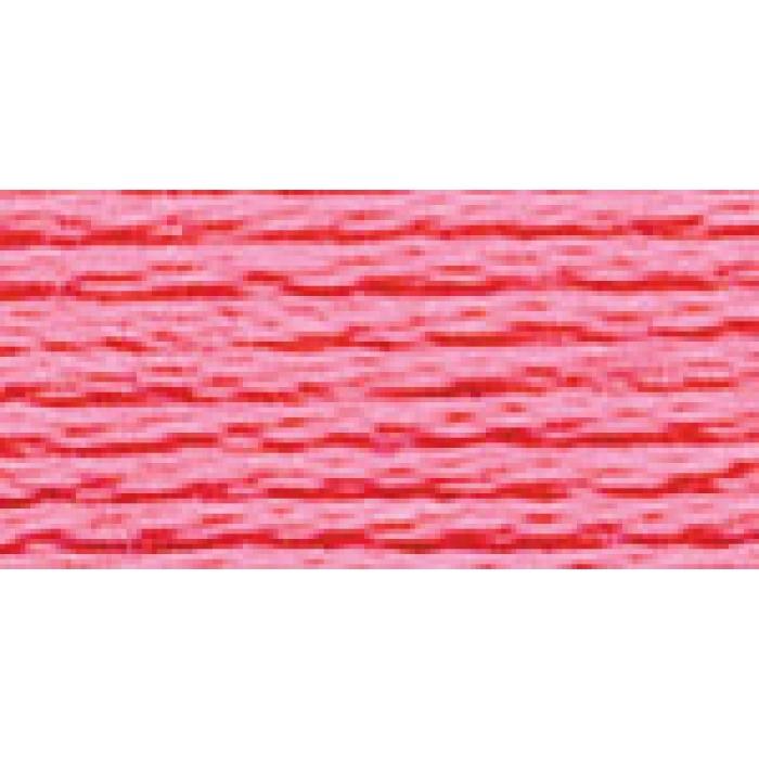 Нитки для вышивания Gamma мулине (0001-0206) 100% хлопок 24 x 8 м цв.0204 ярк.розовый