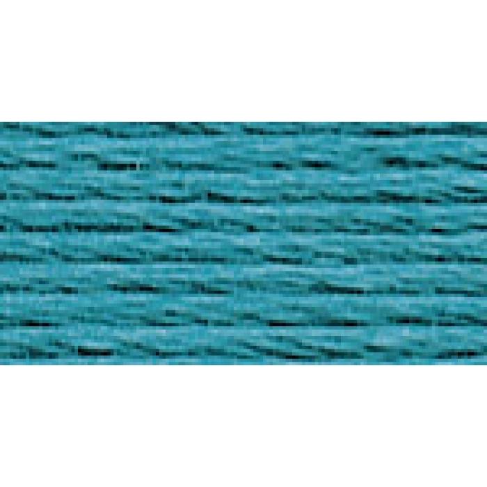 Нитки для вышивания Gamma мулине (0820-3070) 100% хлопок 24 x 8 м цв.3057 т.бирюза