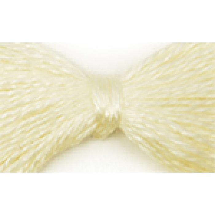 Нитки мулине цв.0200 св.желтый 12х10м С-Пб