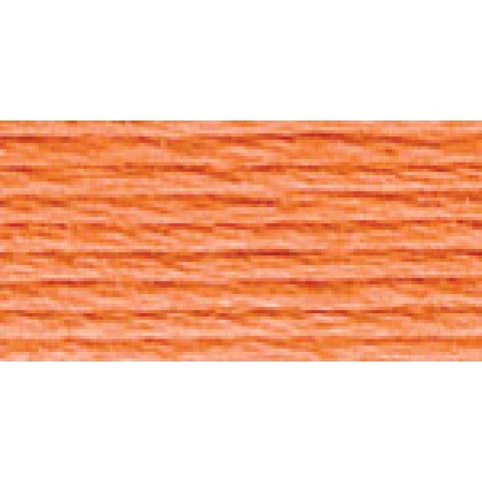Нитки для вышивания Gamma мулине (3173-6115) 100% хлопок 24 x 8 м цв.3202 бл.оранжевый