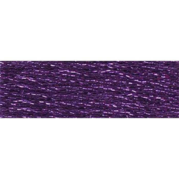 Нитки мулине DMC Light Effect (100% полиэстер) 6х8м арт.317W цв.E3837