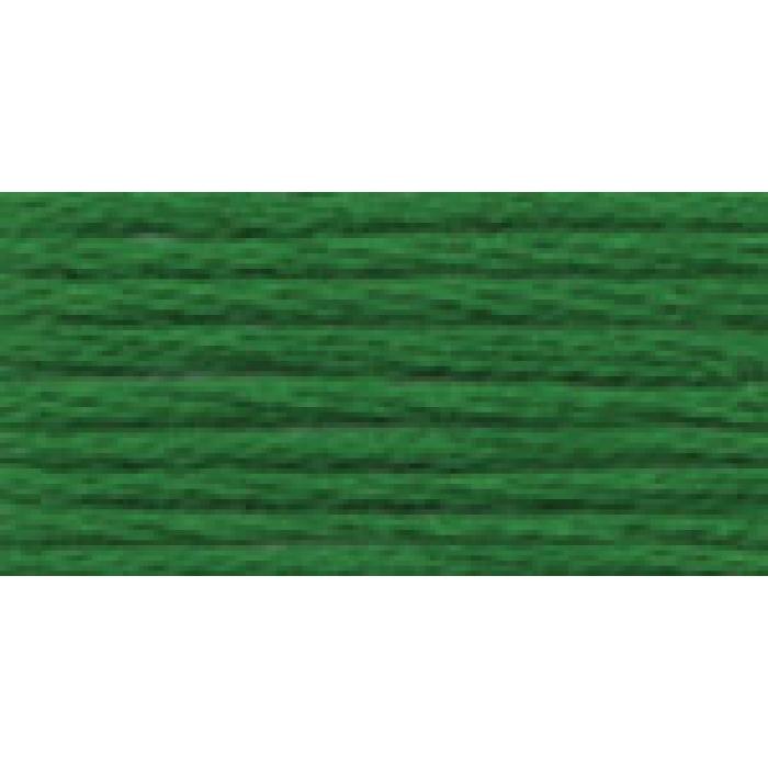 Нитки для вышивания Gamma мулине (3173-6115) 100% хлопок 24 x 8 м цв.5212 т.зеленый
