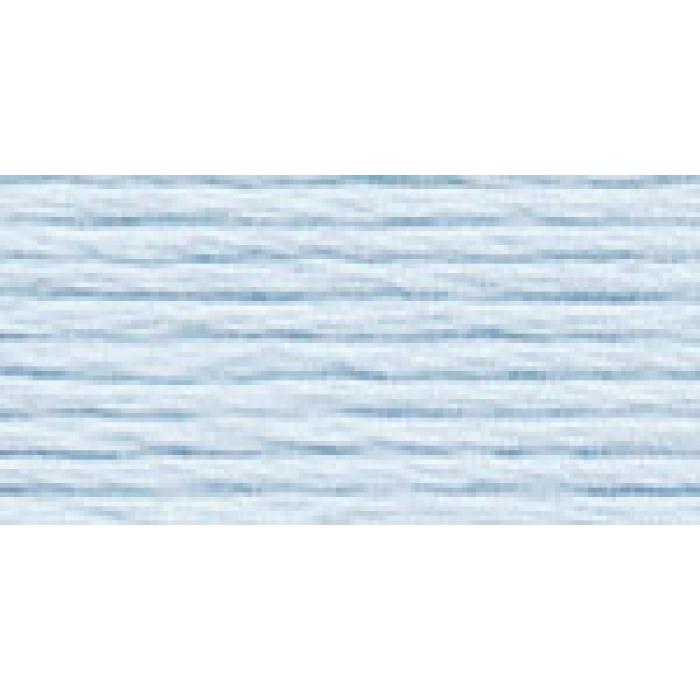 Нитки для вышивания Gamma мулине (0207-0819) 100% хлопок 24 x 8 м цв.0301 св.голубой