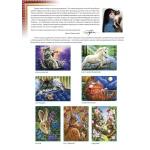Живопись на картоне Белоснежка арт.БЛ.3006-CS Зонтик 30х40 см