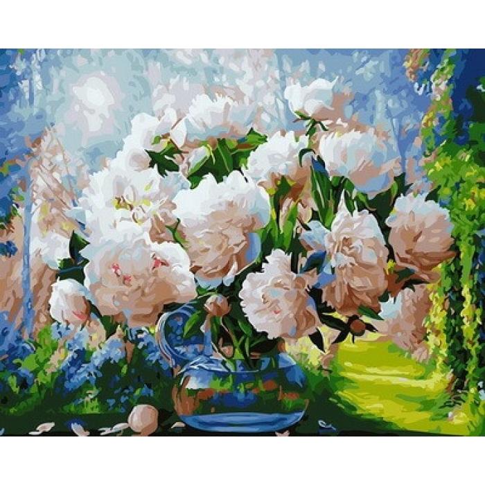 Картины по номерам Восхитительные пионы GX29949 40х50 тм Цветной