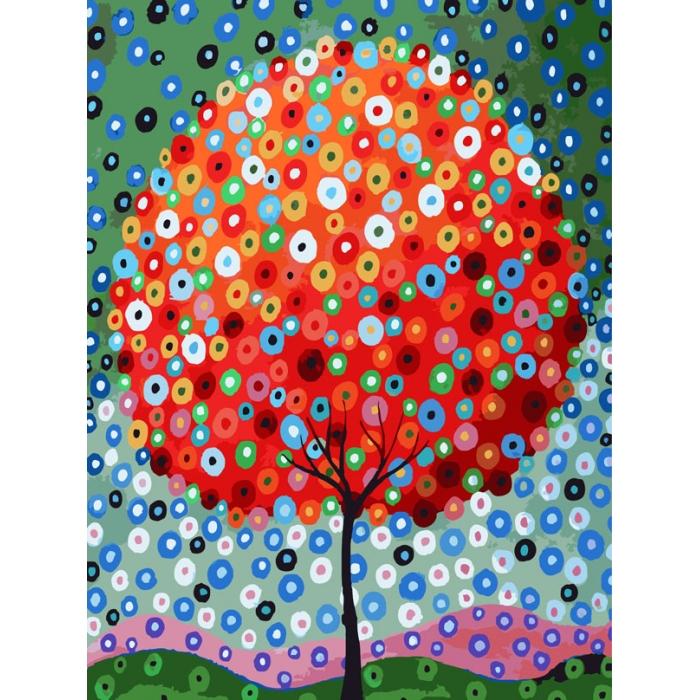 Картины по номерам Белоснежка арт.БЛ.754-AS Денежное дерево 30х40 см