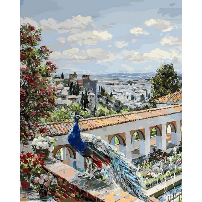 Картины по номерам Белоснежка арт.БЛ.952-AB-L Сады Гранады 40х50 см